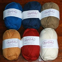 """Guide to Plant Fibers for Crochet and Knitting: Simply Cotton Worsted Weight Yarn by Knitpics -- A 100% <a href=""""http://crochet.about.com/od/yarn/tp/organic-cotton-yarn.htm"""">Organic Cotton Yarn</a>"""