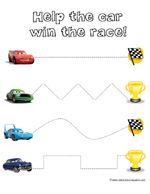 CARS ~ Preschool Pack