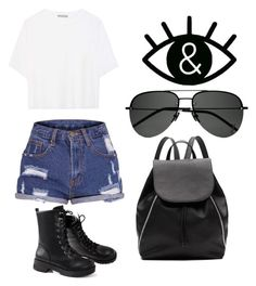 """""""Untitled #213"""" by hibiah on Polyvore featuring Vince, Witchery and Yves Saint Laurent"""