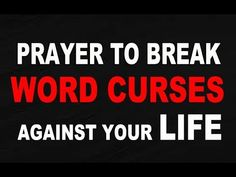 Deliverance Prayer: Prayer To Break Word Curses Against Your Life by Evangelist Fernando Perez Prayer Chain, Prayer Prayer, Prayer Board, Power Of Prayer, Deliverance Prayers, Powerful Prayers, Prayers For Strength, Prayers For Healing
