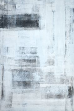 Large Acrylic Abstract Art Painting Black White and by T30Gallery, $186.00