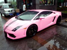 Lambo Pink ☆ Yes please ;)