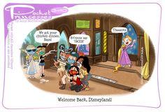 Disney Princess Drawings, Disney Princess Pictures, Disney Drawings, Pocket Princess Comics, Pocket Princesses, Disney Princesses, Disney Jokes, Disney Cartoons, Disney And Dreamworks