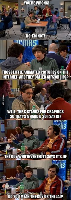 It's gif. Just because you created gifs doesn't mean you get to recreate the English language. It's a hard g, like gift.