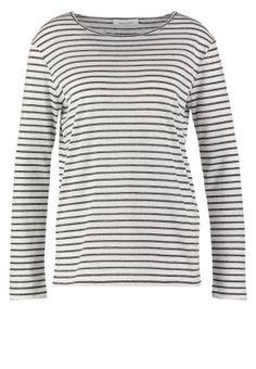 NOBEL - Pitkähihainen paita - black stripe
