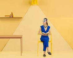 Origami Life for Fantastics Magazine on Behance