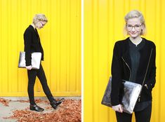 Get this look: http://lb.nu/look/7876000  More looks by Joana ♡: http://lb.nu/joanagroeblinghoff  Items in this look:  Dress For Less Clutch, Dress For Less Cardigan, Dress For Less Jeans, Dress For Less Boots, Dress For Less Blouse, Andy Wolf Glasses   #casual #chic #street