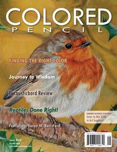 Colored Pencil Magazine June 2017 Digital 2 99 In This Issue Journey To Wisdom Rebecca S Reptiles Encausticbord Review Finding The Right Color