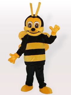 $149.25Black Yellow Honey Bee #Adult #Mascot #Costume