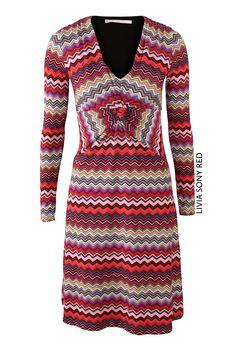 Livia Sony Red von KD Klaus Dilkrath #kdklausdilkrath #kd #dilkrath #kd12 #outfit #dress