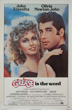 GREASE Movie Poster (1978) || DRAMA Movie Posters @ FilmPosters.Com - Vintage Movie Posters and More