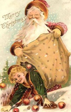 Jun 2019 - christmas so overwhelming & wonderful at the same time images of vintage cards that I especially like. See more ideas about Vintage christmas, Vintage cards and Vintage christmas cards. Vintage Christmas Images, Old Christmas, Old Fashioned Christmas, Victorian Christmas, Father Christmas, Christmas Pictures, Christmas Journal, Christmas Scenes, Christmas Stuff