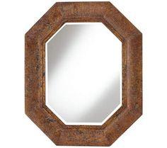 "Stevens 26 1/2"" x 32 1/2"" Octagonal Wall Mirror | 55DowningStreet.com $170"