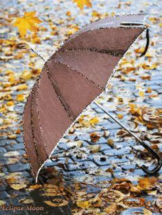 umbrella in the rain Sound Of Rain, Singing In The Rain, Rain Umbrella, Under My Umbrella, Rain Gif, Foto Gif, I Love Rain, Image Nature, Les Gifs