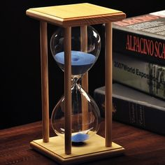 Buy 15 min 30 min 45 min 60 min Frame Sand Glass Sandglass Hourglass Timer Clock Time Decor Valentines Day Gift (color randomly) at Wish - Shopping Made Fun Hourglass Sand Timer, Sand Glass, Wedding Sand, Sand Timers, Timer Clock, Father Time, Wedding In The Woods, Desk Accessories, Glass Ornaments
