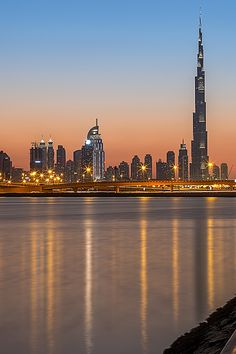 "illest: "" Wonderful Dubai ● via "" Landscape Pictures, Nice Landscape, Dubai City, Cool Landscapes, United Arab Emirates, Burj Khalifa, The Good Place, New York Skyline, Skyscraper"