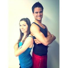 New promo pic! #photoshoot #photography #official #promo #couple #hotcouple #fitness #mugshot #workout #fitfam #instafit #exercise #trainer ...