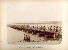 Podul peste Dunăre de la Corabia,bridge over Danube #historicalphotography #carolpoppdeszathmari #mastersofphotography #warphotographer Historical Images, Old Photos, War, Old Pictures, Vintage Photos