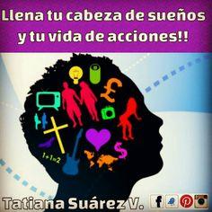 Una mente llena de sueños es capaz de aniquilar los miedos más grandes. #Ekánta #Reiki  #Cristales #SonidoSanador #TatianaSuárezV #Medellín #PNL #Amor