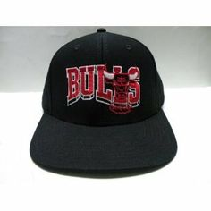 Chicago Bulls Retro Hat Cap Snapback Jordan BLK BLOCK .  8.80. Brand new  retro snapback cap. Embroidered team logos. Snapback design. One Size Fits  Most. 188eb67ef2f17
