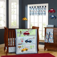 Laugh, Giggle & Smile My Little Town 9 Piece Crib Bedding Set Country Bedding Sets, Crib Bedding Boy, Best Crib, Getting Ready For Baby, Crib Sets, Contemporary Bedroom, Bedding Collections, Luxury Bedding, Bed Sheets