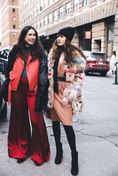 Street Style invitadas New York Fashion Week   Galería de fotos 57 de 90   GLAMOUR