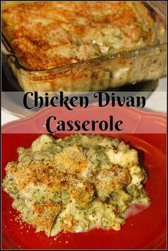 Chicken Divan Casser