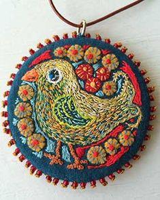 Scandinavian Embroidery, Swedish Embroidery, Felt Embroidery, Embroidery Stitches, Embroidery On Clothes, Textile Art, Needlework, Crochet Earrings, Applique