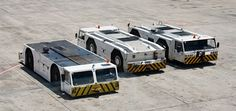 Airport tow truck, imagine a version of this for the road, i.e. without all the weight!
