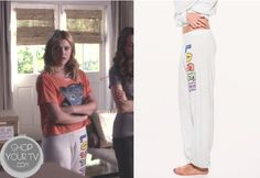 Shop Your Tv: Pretty Little Liars: Season 4 Episode 9 Hanna's Loser Sweat Pants Pretty Little Liars Seasons, Pretty Little Liars Fashion, Hanna Marin, Ashley Benson, Cutout Dress, White Sweaters, Season 4, My Outfit, Fashion Outfits