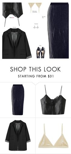 """NewChic"" by s-thinks ❤ liked on Polyvore featuring 1205, Base Range, ootd and plus size clothing"