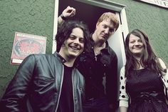 Jack White, Josh Homme & Meg White