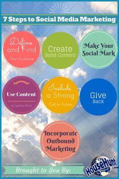 A 7 Step Guide to Social Media Marketing for Real Estate: http://www.blog.househuntnetwork.com/social-media-marketing-for-real-estate/