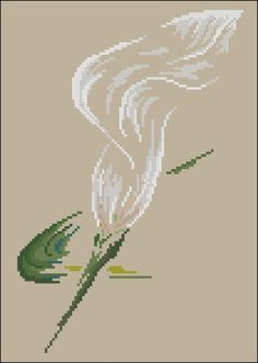 """Сачать схему вышивки """"Arum lily""""  Формат схемы: .xsd  Размер: 91x138  Производитель: DMC  Артикул: XC1132a  Серия:   Количество цветов в : 11"""