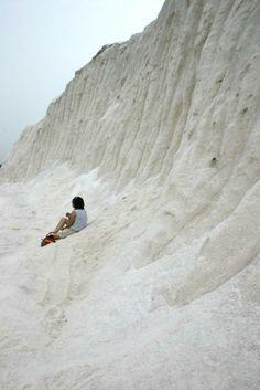 salt mountain, Qigu, Tainan #Taiwan 台南 七股