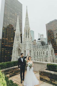 A Modern Wedding at 620 Loft and Garden