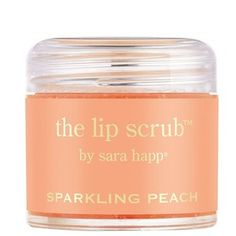 sara happ 'The Lip Scrub - Sparkling Peach' Lip Exfoliator