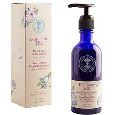 Buy Neal's Yard Remedies Deliciously Ella Rose, Lime and Cucumber Facial Wash, 100ml Online at johnlewis.com