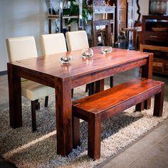 Table à Dîner en bois de Rose - Collection Zen - Kif-Kif Import