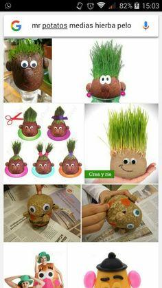 Germinanadores - New Deko Sites Forest School Activities, Craft Activities For Kids, Easter Crafts, Fun Crafts, Arts And Crafts, Spring Crafts For Kids, Diy For Kids, Grandparents Day Activities, Preschool Garden