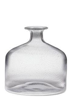 Glass Vintage Vase - Clear