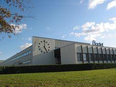 Usine du groupe Bodet située à Trémentines.