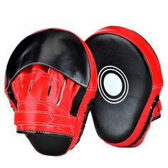Lions Curved Kickboxing Thai Kick Pad MMA Training Boxing Arm Strike Pads Focus Hook /& Jab Shield