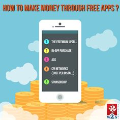 How to make #money through #free #apps