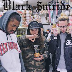 $UICIDEBOY$ x Black Smurf - Black $uicide