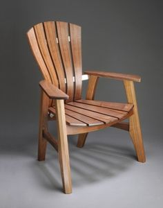 Brian Boggs outdoor chair.