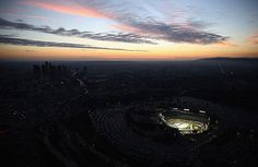Ducks Kings Dodger Stadium