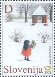 ♥ ◙ Slovenia, Postage Stamp. ◙