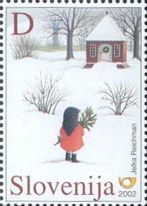 ♥ Slovenia Postage Stamp ♥