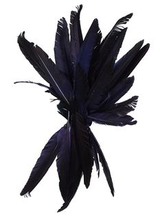 ANN DEMEULEMEESTER Feather Facinator